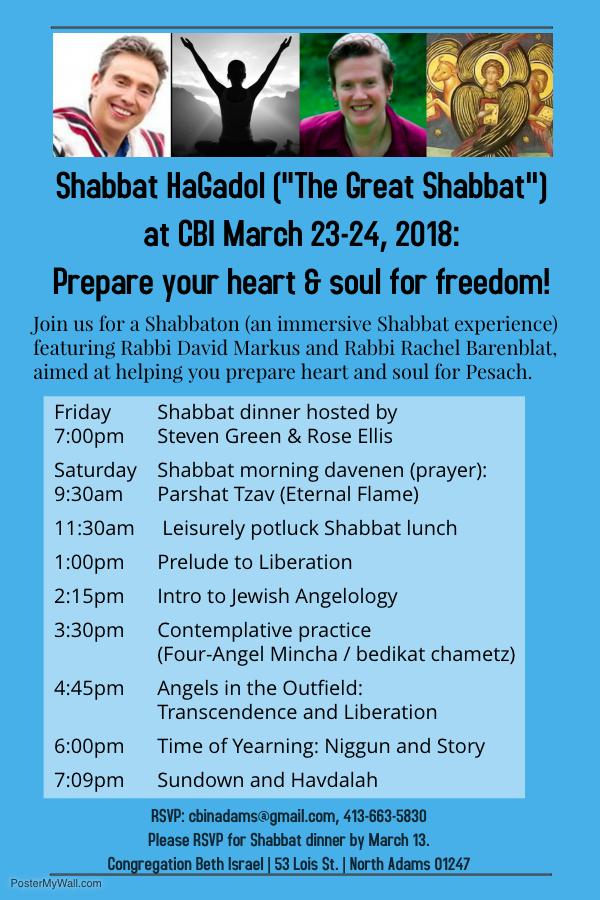 Shabbat HaGadol (1)